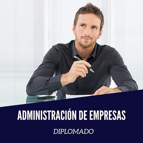 Diplomado en Administración de Empresas.