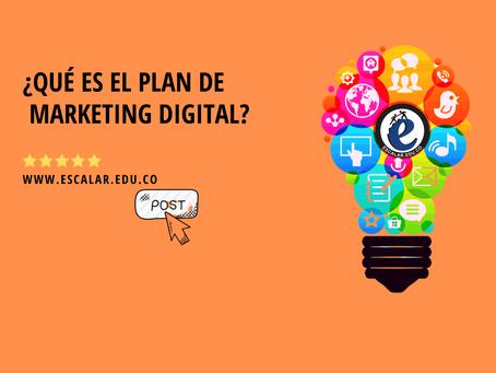 ¿Qué es el plan de marketing digital?
