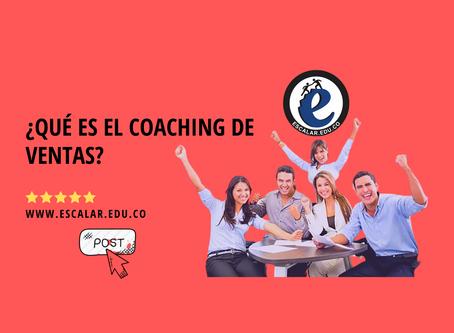 ¿Qué es el coaching de ventas?