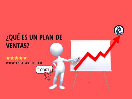 ¿Qué es un plan de ventas?