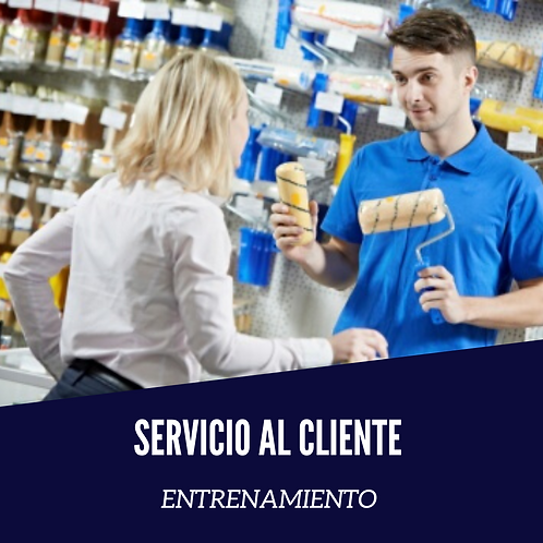 Entrenamiento en Servicio al Cliente.