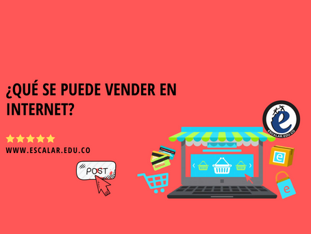 ¿Qué se puede vender en internet?