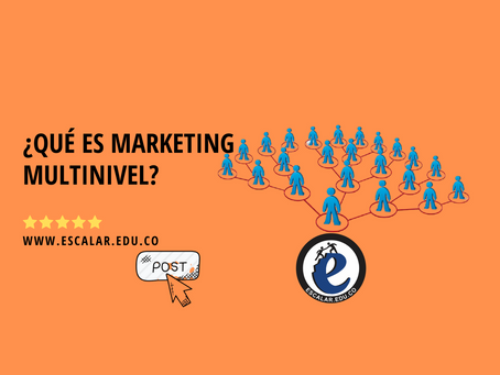 ¿Qué es marketing multinivel?
