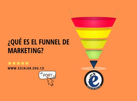 ¿Qué es funnel de marketing?