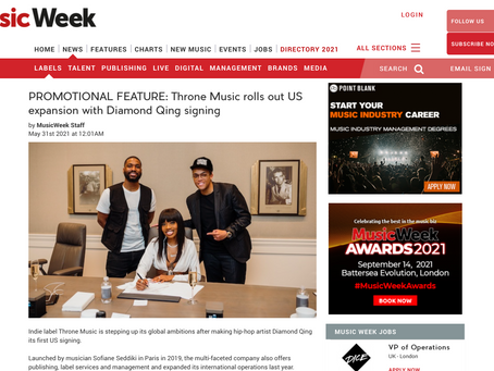 NEW ARTICLE ON MUSIC WEEK !
