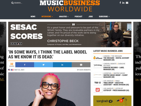 Sofiane SEDDIKI's interview MUSIC BUSINESS WORLDWIDE