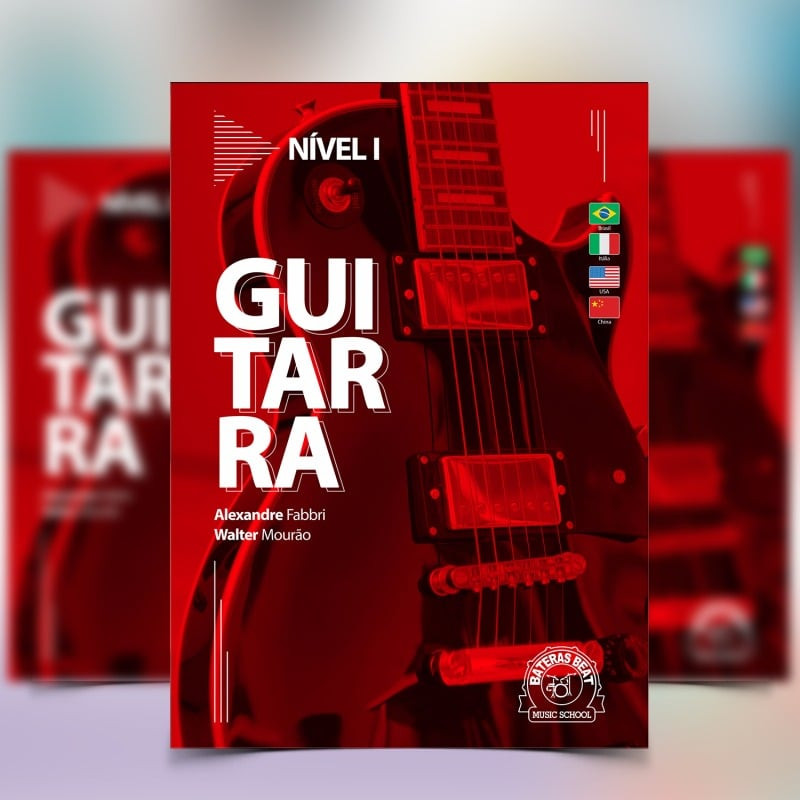 Curso de Guitarra - Bateras Beat Santo Amaro