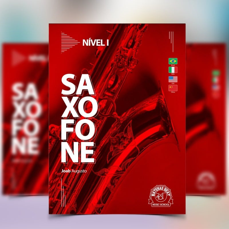Curso de Saxofone - Bateras Beat Santo Amaro