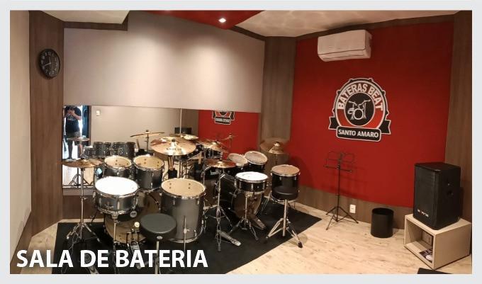 Sala de Bateria - Bateras Beat Santo Amaro