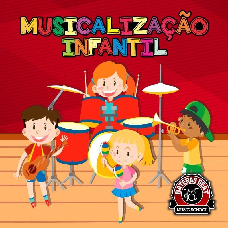 Bateras Beat Santo Amaro - Musicalização Infantil