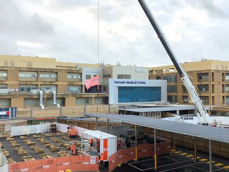 COVID-19 ICU expansion underway
