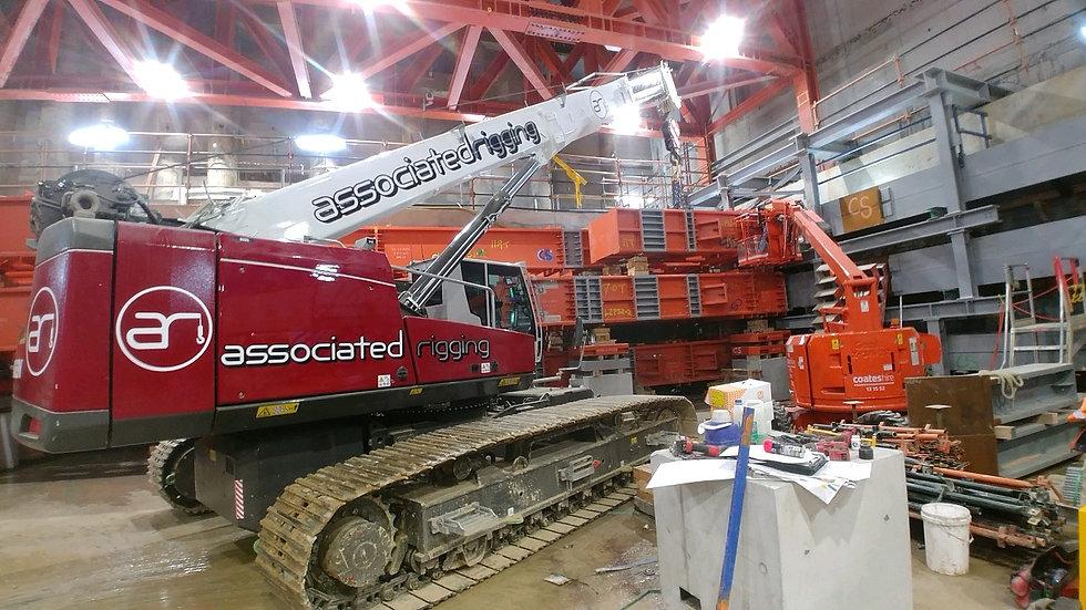 Associated Rigging Crane Rental & Rigging Services Geelong Melbourne - About