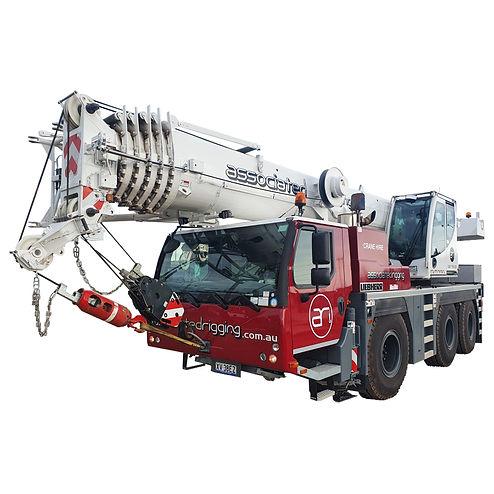 60t Liebherr Mobile Crane hire