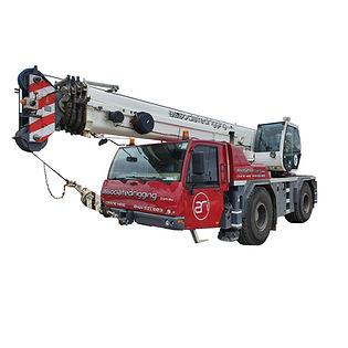 35t Terex Demag Crane hire