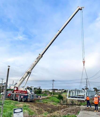 Bridge installation