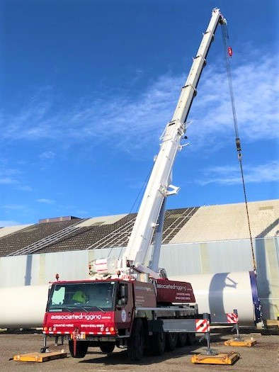 Associated Rigging Crane Hire - Wind Turbines