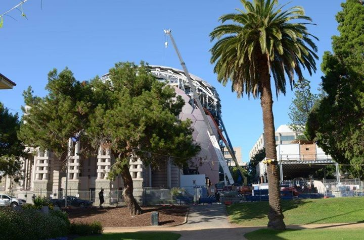 Associated Rigging Crane Hire - Geelong Regional Library