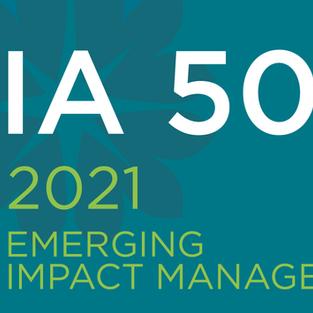 IA 50 Emerging Impact Managers