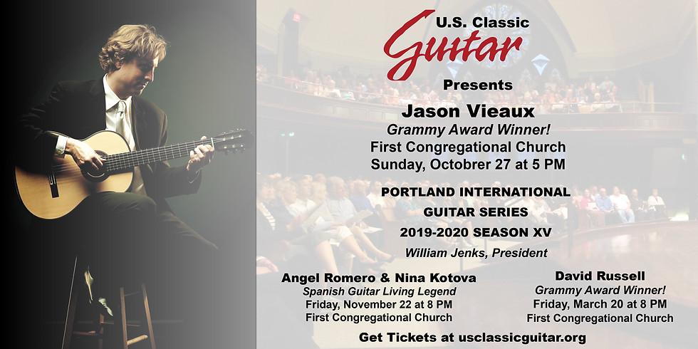 US Classic Guitar Presents Jason Vieaux