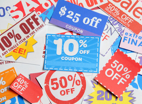 The Value of Offering Discounts - But Don't Give Away the Store