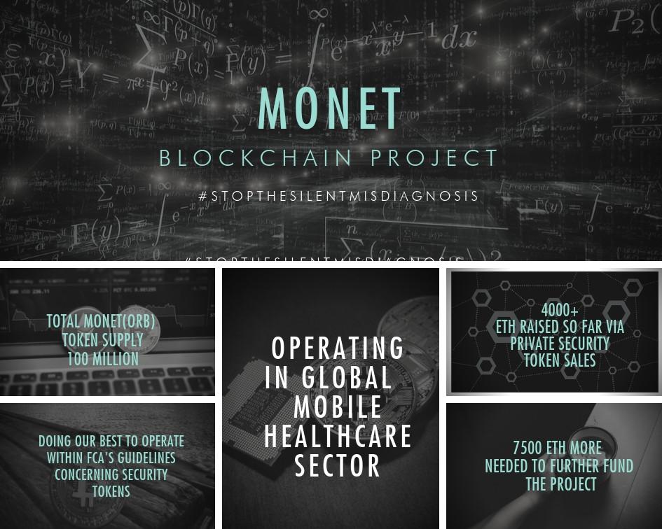 MONET Blockchain Project quick overview