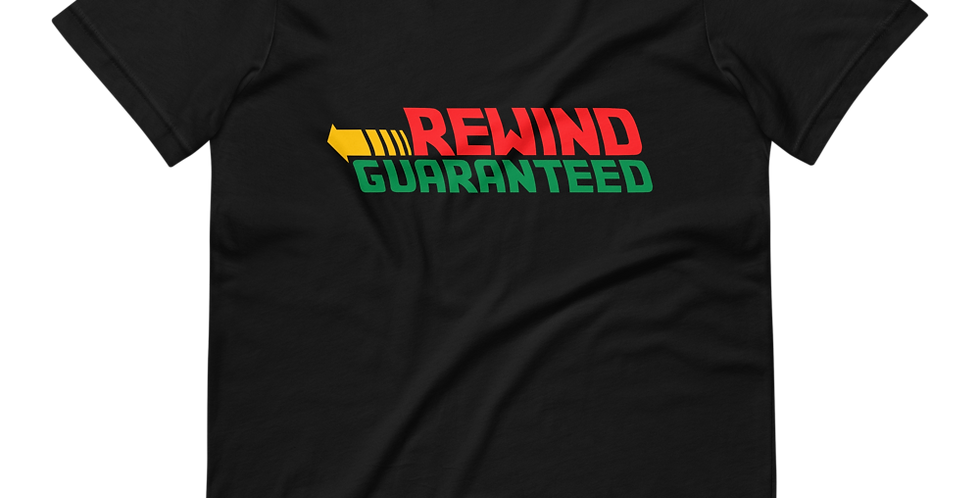 Rewind Guaranteed - Full Color Logo - Tee