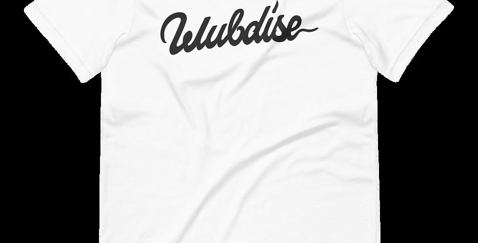 Wubdise - Logo Tee / White