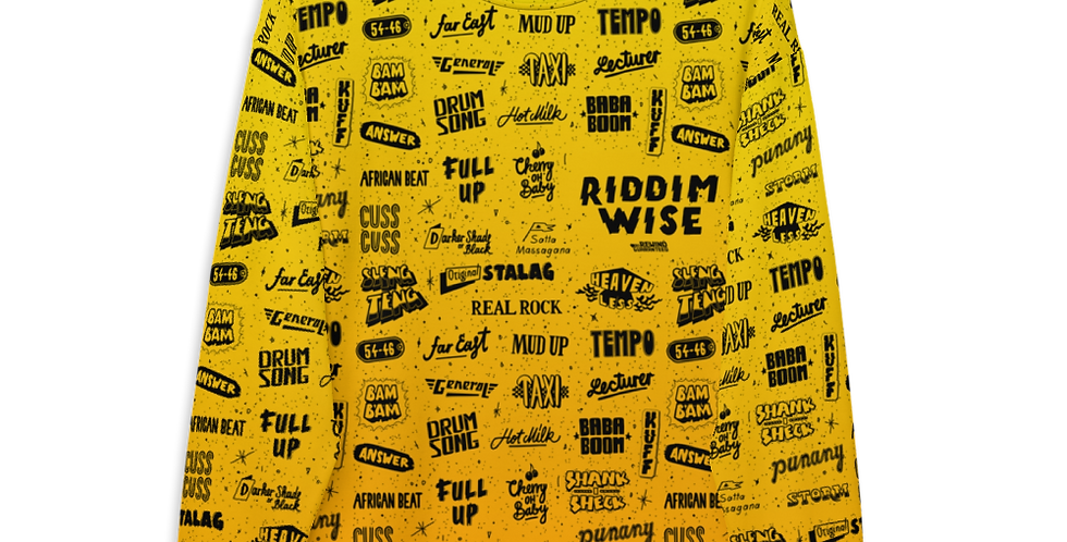 Riddimwise - All Over Print - Sweatshirt
