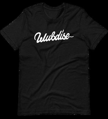 Wubdise - Logo Tee / Black