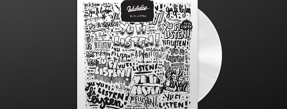 "WUBDISE ""YU FI LISTEN"" - Limited white vinyl edition"