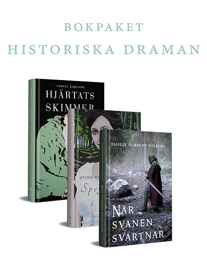 Bokpaket: Historiska draman