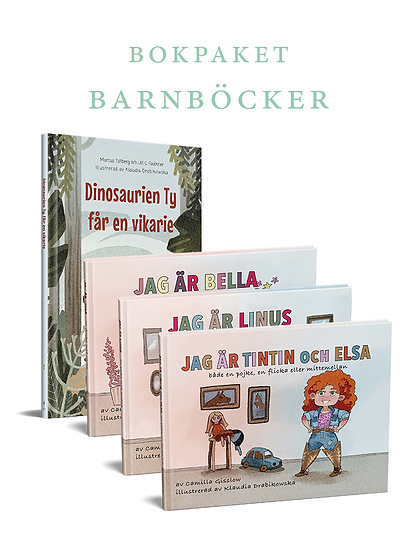 Bokpaket: Barnböcker