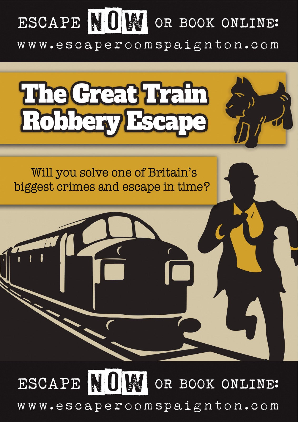 The Great Train Robbery £40 deposit