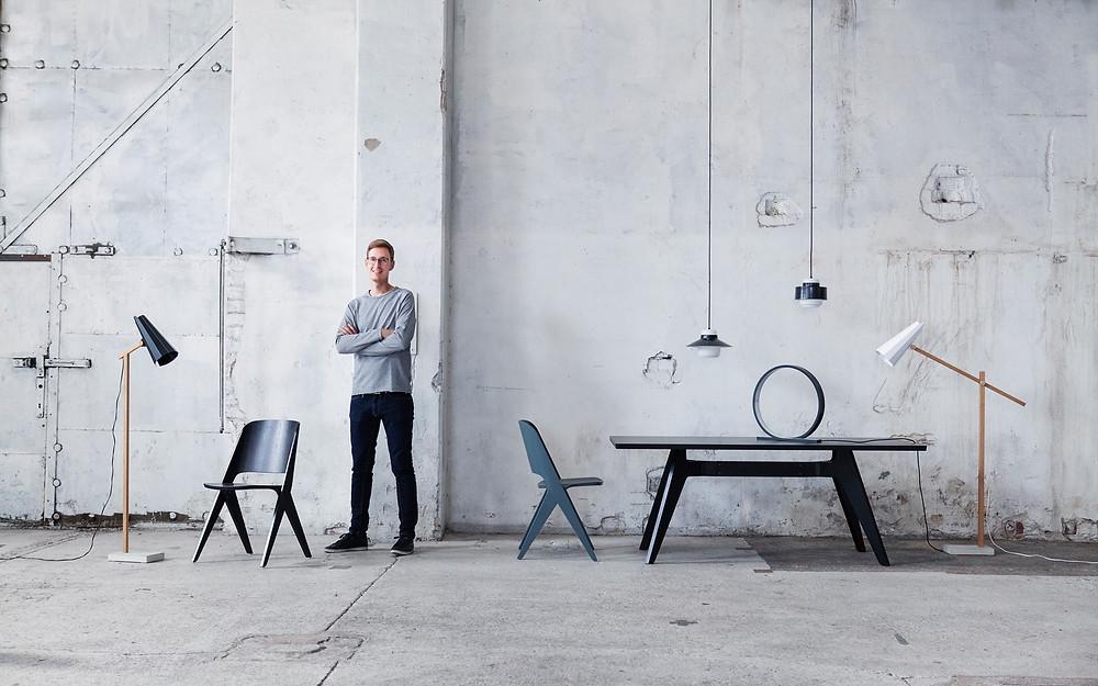 PURE! Das digitale Magazin - Interview mit dem Lampendesigner Timo Niskanen- dem Gründer von Himmee