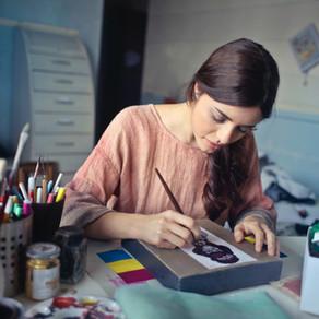 Achtsamkeit: 9 Tipps wie man kreativ inspiriert bleibt