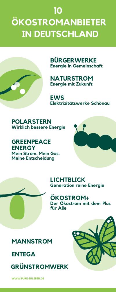 PURE! Das digitale Magazin - Nachhaltig Leben: Warum ist Ökostrom sinnvoll?