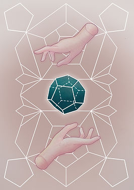 platonic solids dodekahedron , The Dodecahedron represents the element of Aether.