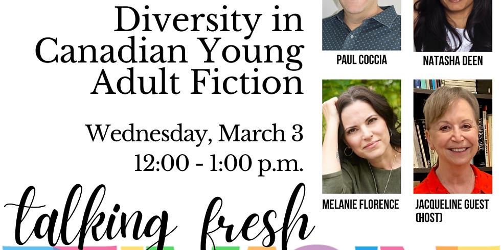 Saskatchewan Writer's Guild: Talkin' Fresh