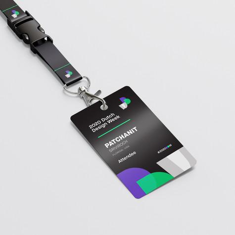 DDW ID Badge Detail