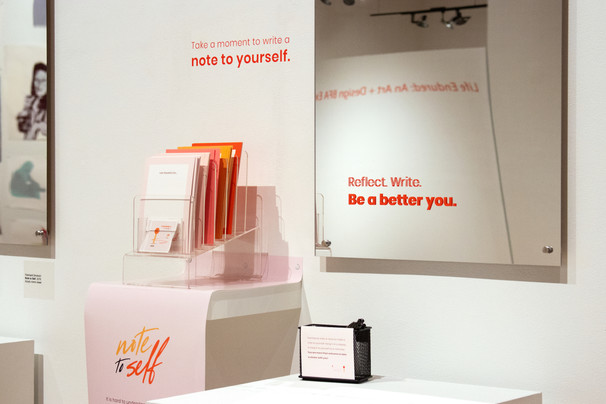 Note to Self at Life Endured: BFA Art + Design Exhibition