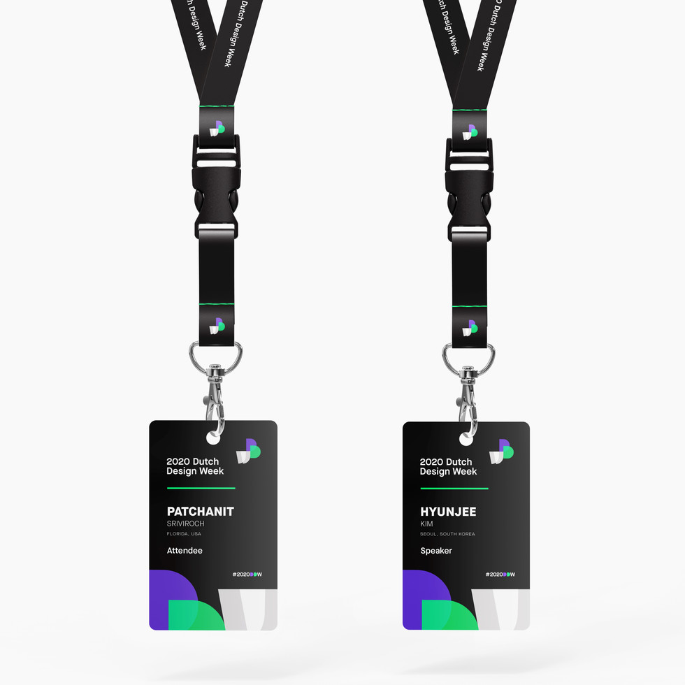 DDW Attendee & Speaker ID Badges