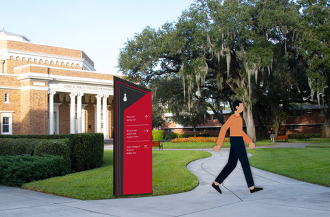 The University of Tampa Wayfinding