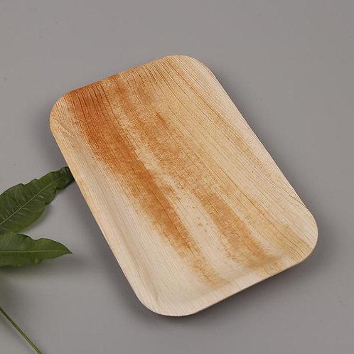 Rectangle Palm Leaf Plates x 25