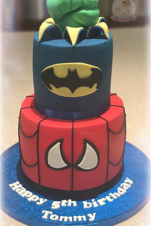 Marvel-ous Kids Party Cake