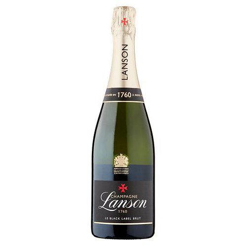 6 x 75ml Lanson Black Label Champagne