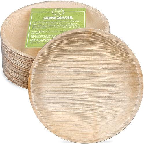 Palm Leaf Plates x 25
