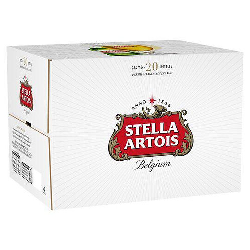 Stella Artois 20 x 284 Bottles