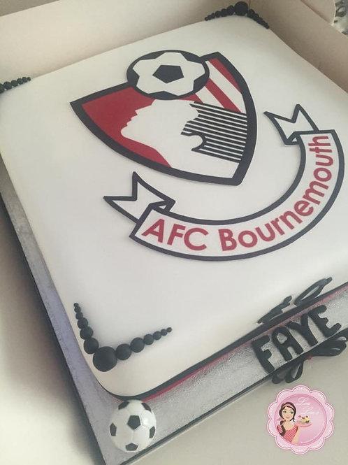 AFC Bournemouth Cake