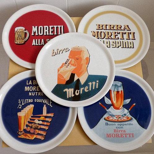 Birra Moretti Pizza/Dinner Plates x 10