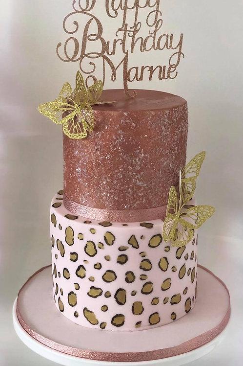 Girly Glamour Cake